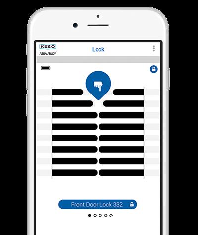 Aplikacja-smatrfon-Elektroniczny Zamek