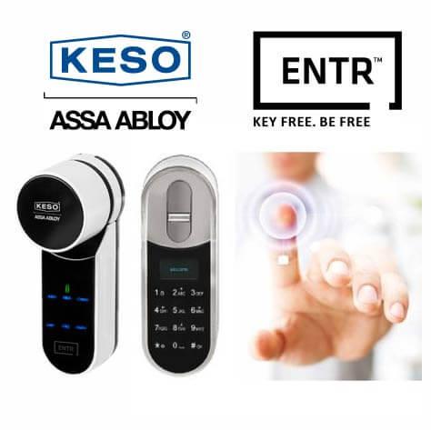 Keso-ENTR-Elektroniczny Zamek