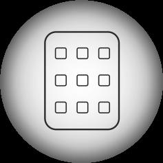 ikona-klawiatura-kod-Elektroniczny Zamek