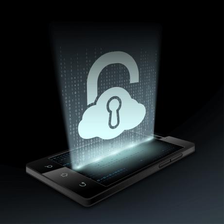 tablet-z-chmura-Elektroniczny Zamek